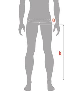 REVIT Jeans Size Guide Chart