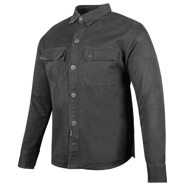 Speed and Strength Last Man Standing Armoured Kevlar Reinforced Moto Shirt
