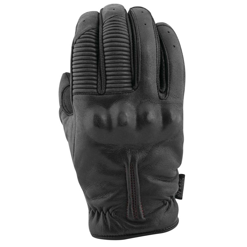 Speed and Strength Quick And The Dead Short Cuff Motorcycle Leather Gloves