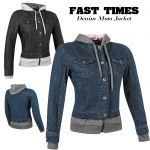 Speed and Strength Womens Fast Times Armoured Hoody Jacket
