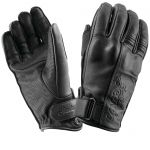 Speed and Strength Women's Black Heart Short Cuff Leather Motorcycle Gloves