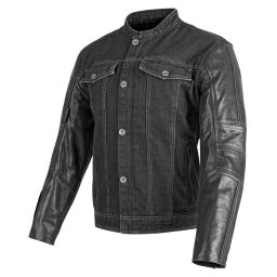 Speed and Strength Band Of Brothers Leather Denim Jacket