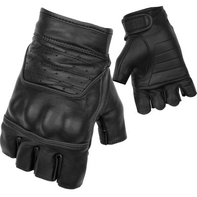 View Black Brand Brawler Shorty Gloves