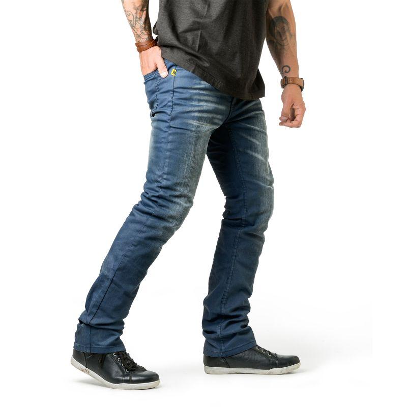 Draggin Revz Jeans | Blue Slim Fit Men's Skinny Kevlar Jeans