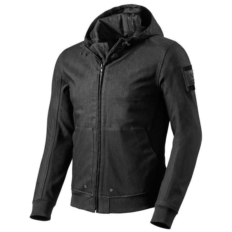 REVIT! Stealth Hoodie | Waterproof Hooded Motorcycle Jacket
