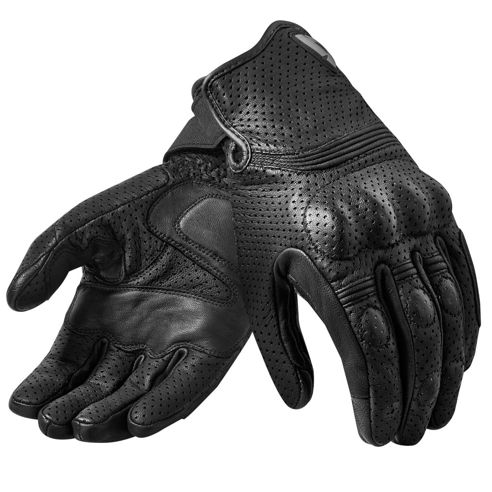 Ladies leather gloves australia - Fly 2 Short Cuff Perforated Leather Summer Motorcycle Gloves