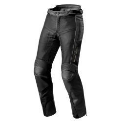 REVIT! Gear 2 Leather Pants | Summer Leather Motorcycle Pants With Zip-In Waterproof Liner