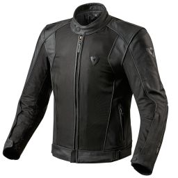 REVIT! Ignition 2 Leather Mesh Waterproof Summer Motorcycle Jacket