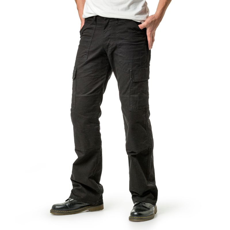 Mens Draggin Cargo Pants | Black Kevlar Cargo Pants