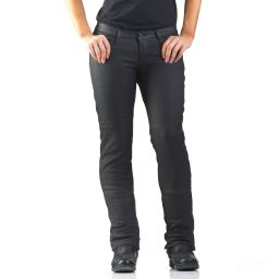 Draggin Slix Women's | Black Coated Kevlar Jeans