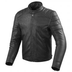 REVIT REVIT Stewart Air Perforated Leather Jacket