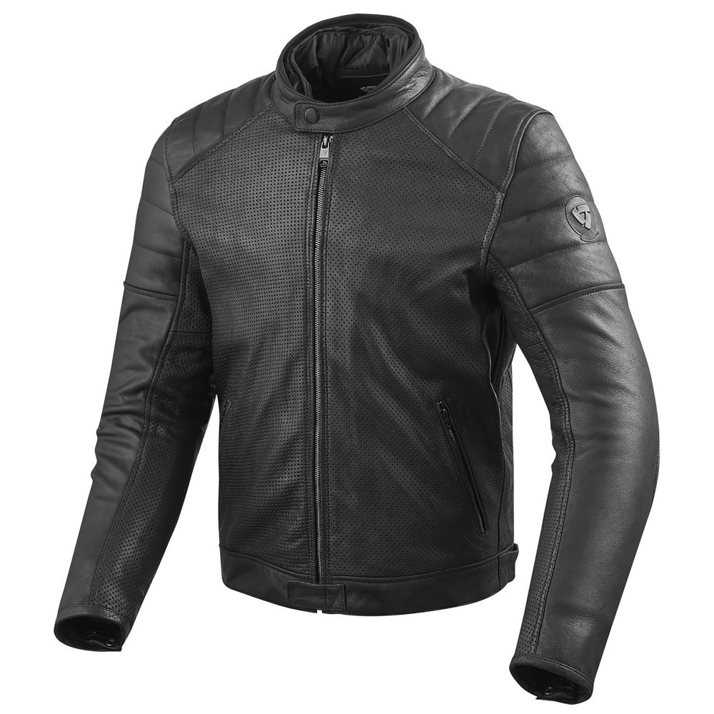 Ladies leather gloves australia - Revit Stewart Air Jacket Motorcycle Perforated Leather Jacket