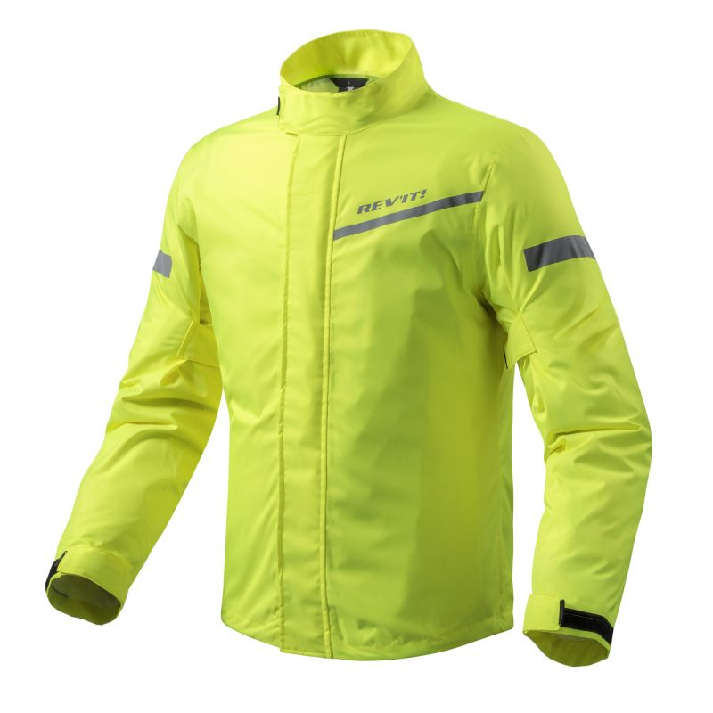 REVIT! Cyclone 2 H2O Motorcycle Rain Jacket - Hi-Vis Yellow