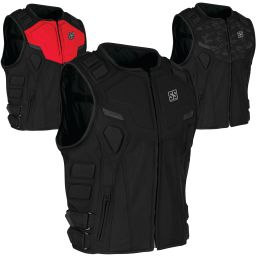 Speed and Strength Critical Mass Vest With Spine Protector