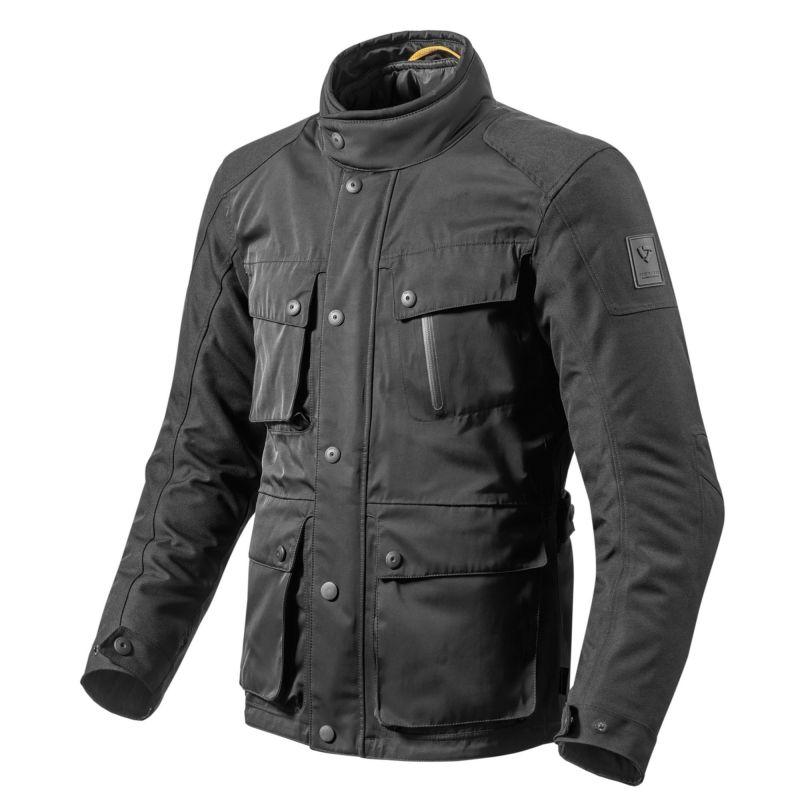 REVIT! Jackson Jacket - Classic Four Pocket Waterproof Motoorcycle Jacket
