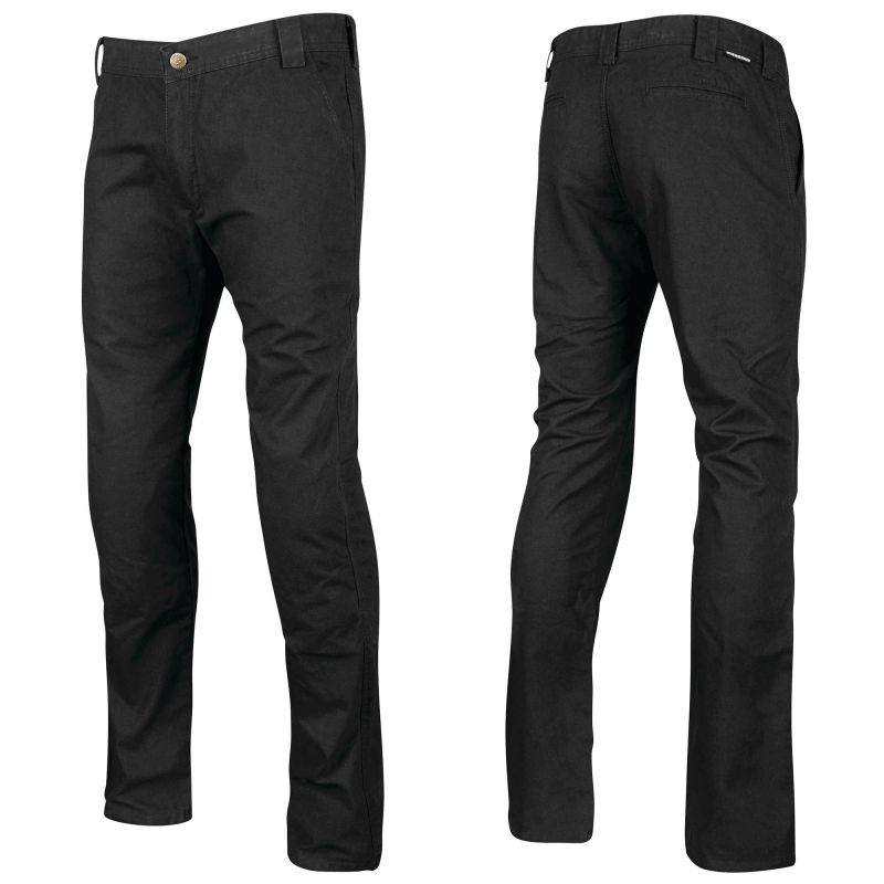 Speed and Strength Soul Shaker Pants | Black Kevlar Chino Motorcycle Pants