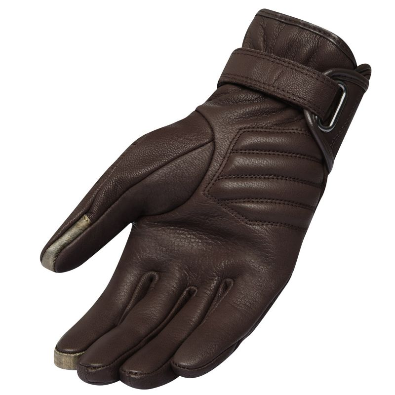 Women's REVIT! Antibes Gloves | Women's Retro Leather Motorcycle Gloves | Brown