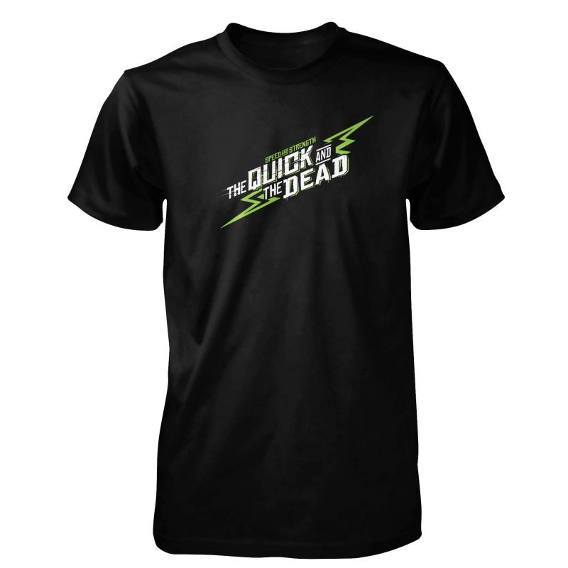 The Quick And The Dead™ T-Shirt | Short Sleeve Motorcycle T-Shirt