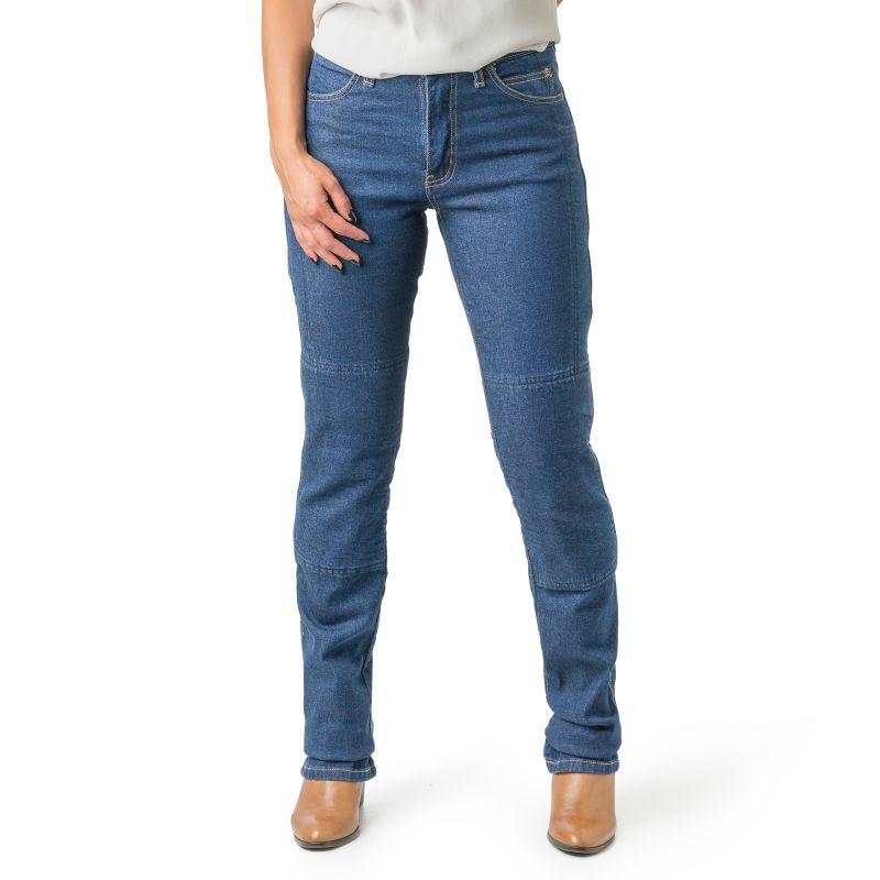 Ladies Draggin Classic Stretch Kevlar Jeans - high Waist - Blue
