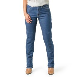 Ladies Draggin Classic Stretch Kevlar Jeans - high Waist - Blue