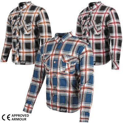 Rust And Redemption Armoured Reinforced Moto Shirt