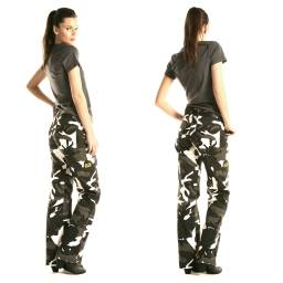 Draggin Womens Camo Cargo Pants