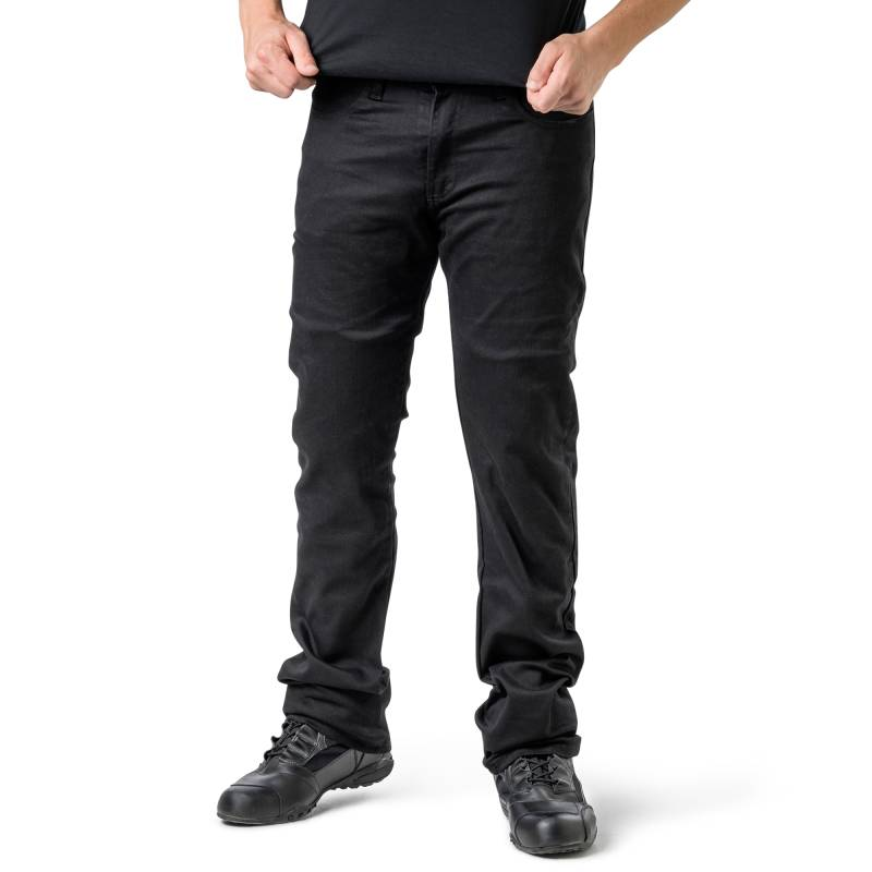 Draggin BLKGEN Jeans | Black Kevlar Jeans Slim Fit