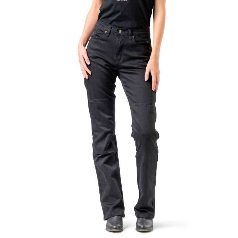 Ladies Draggin Classic Stretch Kevlar Jeans - High Waist - Black