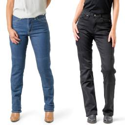 Ladies Draggin Classic Stretch Kevlar Jeans - high Waist