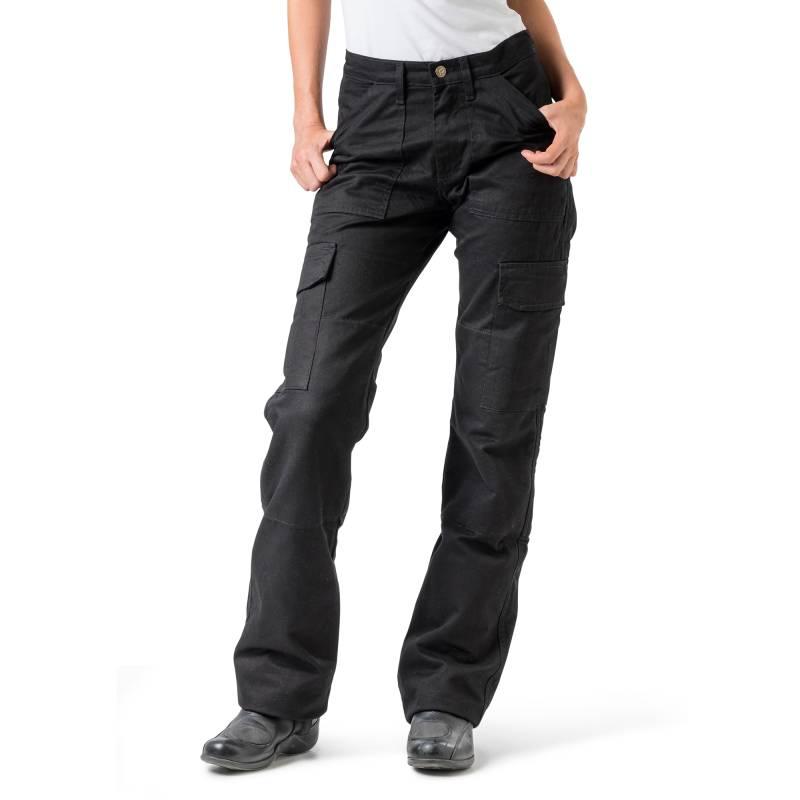 Draggin Women s Black Kevlar Cargo Motorcycle Pants  728525d879