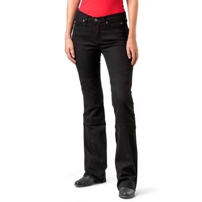 Draggin Womens Skins Jeans Black