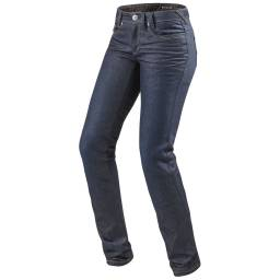 REVIT! Madison 2 Jeans - Women's Dark Blue Slim Fit Motorcycle Jeans