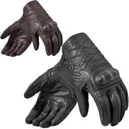 REVIT! Monster 2 Gloves | Retro Leather Motorcycle Gloves