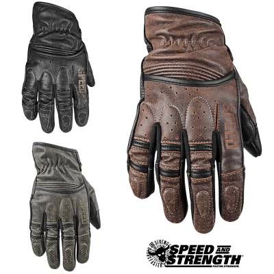 Speed and Strength Rust and Redemption Summer Gloves