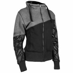 Speed and Strength Cat Outta Hell Ladies Armoured Hoodie