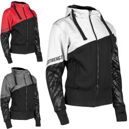 Speed and Strength Cat Outta Hell Womens Armoured Hoody