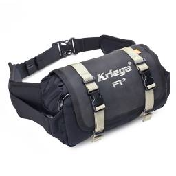 Kriega R3 Waistpack | 3L Waterproof Motorcycle Waistpack Bum Bag