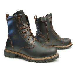 Forma Legacy Boots | Dark Brown Waterproof Cafe Racer Boots