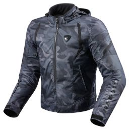 REVIT! Flare Jacket | Waterproof Army Camo Motorcycle Jacket
