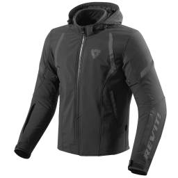 REV'IT! Burn Jacket - Waterproof Warm Motorcycle Jacket With Hood