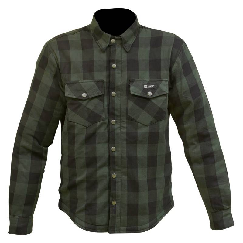 Merlin Axe Kevlar Shirt - Green
