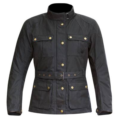 Merlin Ashley Women's Waxed Cotton Motorcycle Jacket