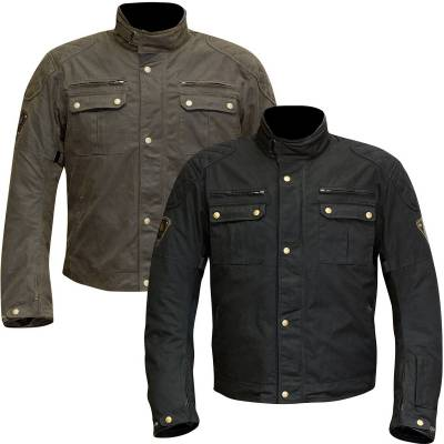 Merlin Sandon Waxed Motorcycle Jacket