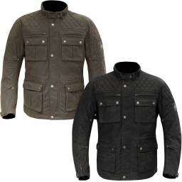 Merlin Yoxall Waxed Cotton Motorcycle Jacket