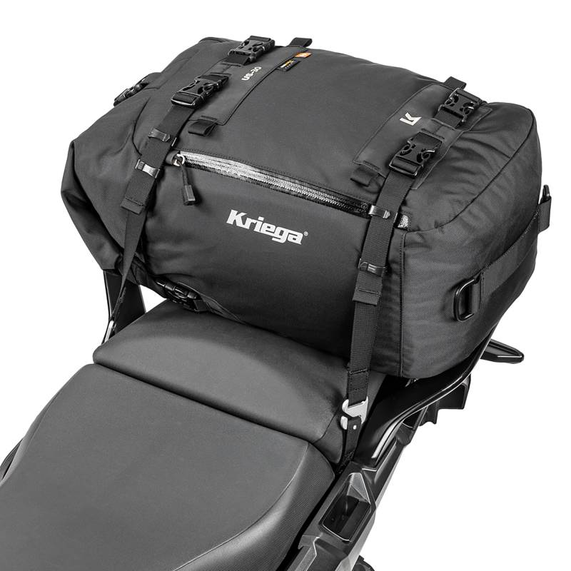 Kriega US-30 Tailpack | Large 30L Motorcycle Dry Pack