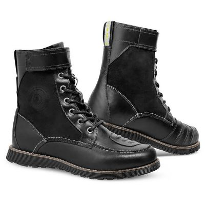 REV'IT! Royale Boots - Brown and Black Leather Motorcycle Boots