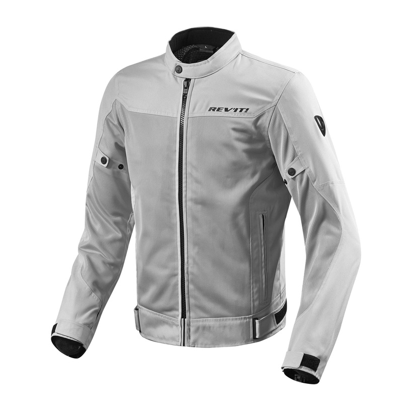 REV'IT! Eclipse Mesh Motorcycle Jacket - Silver