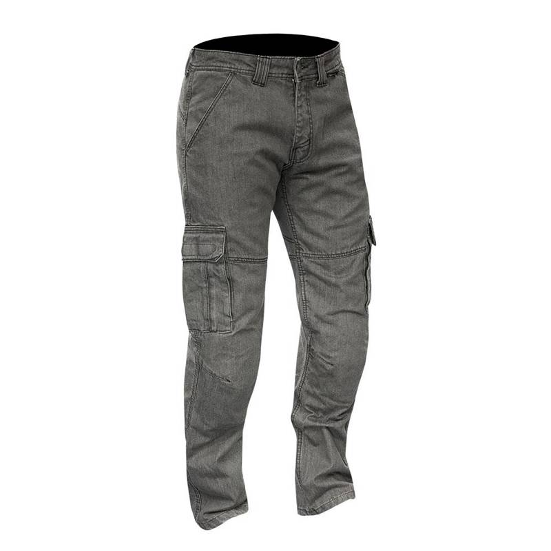 Merlin Portland Motorcycle Cargo Pants - Grey