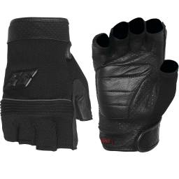 Speed And Strength Half Nelson Fingerless Mesh Motorcycle Gloves