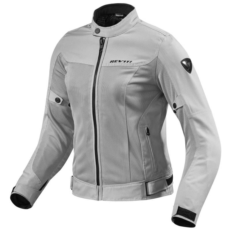 REVIT! Ladies Eclipse Mesh Jacket Sliver | Women's Mesh Motorcycle Jacket